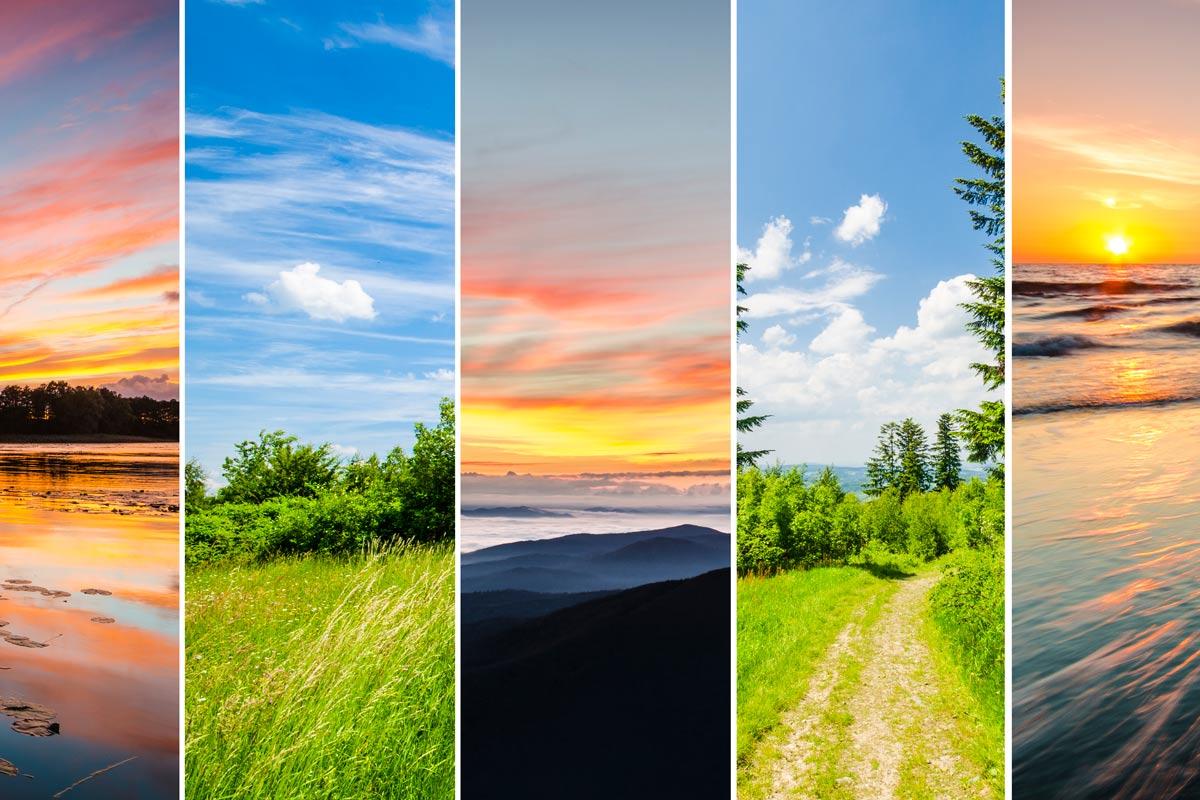 ¿Qué prefieres para tus vacaciones? ¿Playa o montaña?