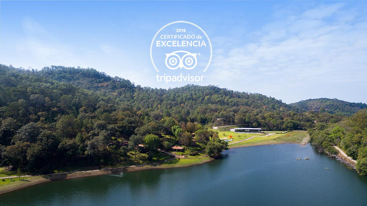 Nuevamente Sierra Lago Obtuvo el Certificado de Excelencia TripAdvisor